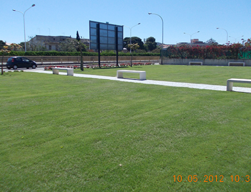 Parcheggi in erba comune di Cagiari (CA) – Via Darwin