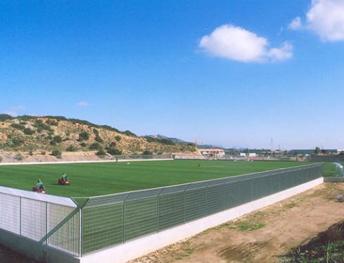 Campo sportivo da calcio comune di Olbia (OT) – Realizzazione